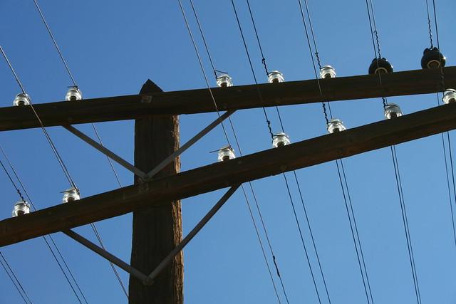 Power line glass insulators flickr photo sharing for Power line insulators glass
