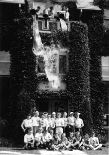 Water dumping, Waterloo College initiation week 1947