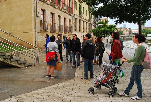 Los blogueros del #eventonomaders #Bilbao