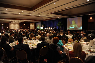 Audience of more than 300 at the Vanderbilt Marriott