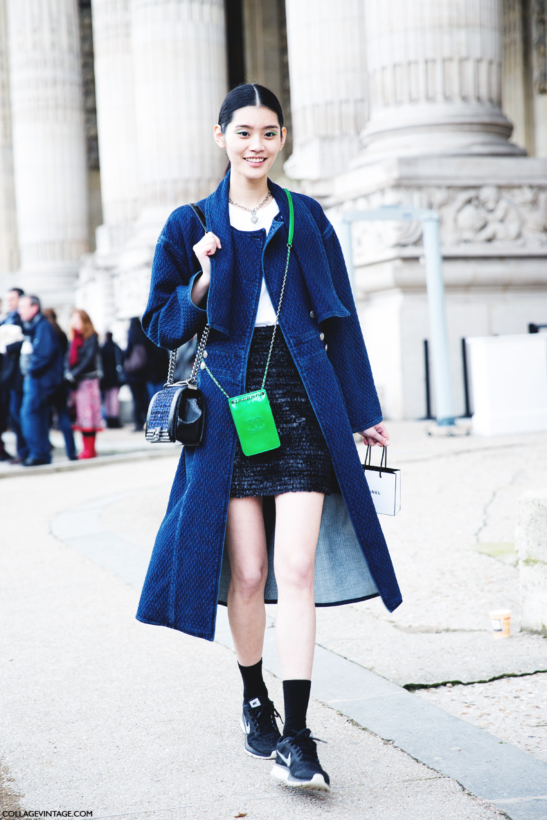 Paris_Fashion_Week_Fall_14-Street_Style-PFW-_Chanel-Model-Trench_Denim-