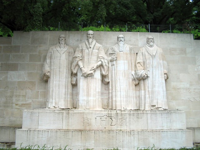 Reformation Wall in Geneva from Flickr via Wylio
