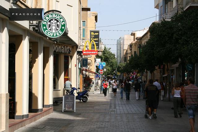 Ledra Street by CC user abragad on Flickr