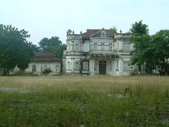 Mansion ruin Northam Lodge 1910 Georgetown Penang