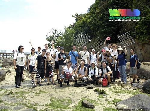 TeamSeagrass at Chek Jawa