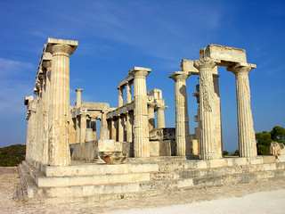 Greece-1173 - Temple of Athena