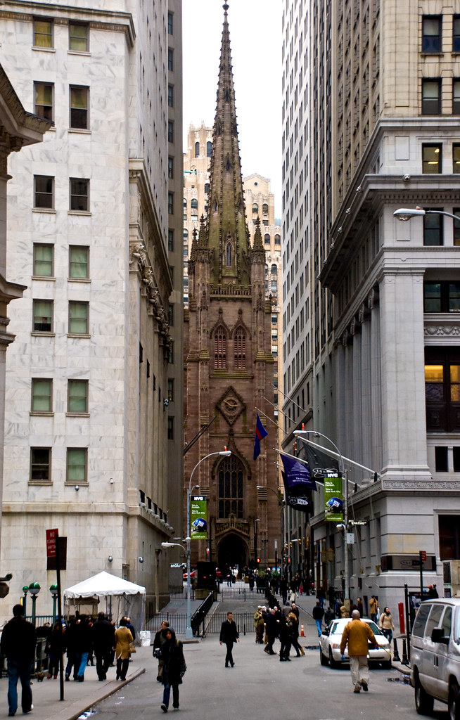 Trinity Church, Manhattan, New York, 10 Feb. 2008