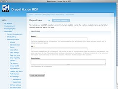 RDF settings - Add repository