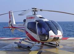 Monaco Heliport. EC-130