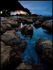 Island Bay - On the Rocks