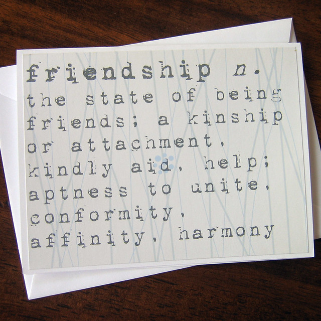 Friendship Definition Essay