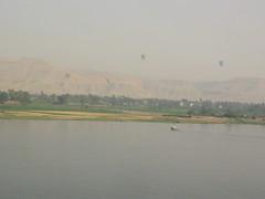 Scenary of Luxor Egypt April 2010