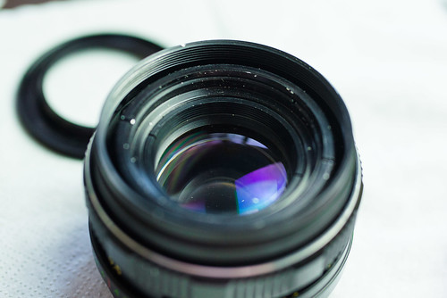 Camera lens from inside