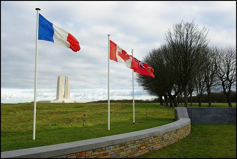 Monument Canadien de Vimy (Pas de Calais, France)
