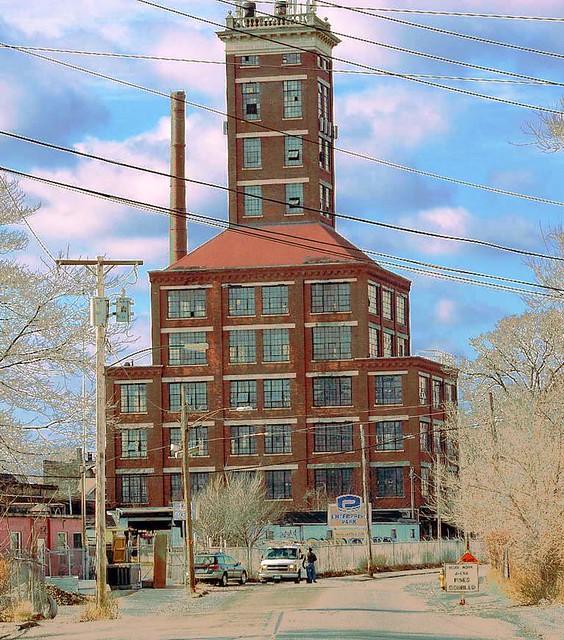 old factory building in Bridgeport   Flickr - Photo Sharing! Old Factory Building