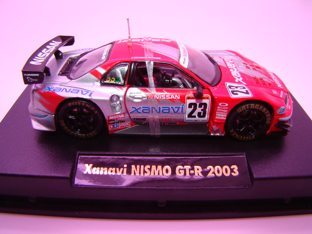 164 Tamiya Super Gt Xanavi Nissan Skyline R34 R A Photo On Pink Gtr