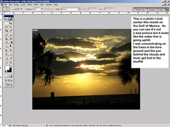 Tutorial - How to Straighten a Picture, gone awry