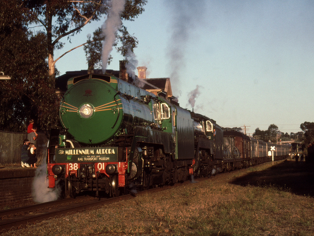 Arrival at Stawell by michaelgreenhill