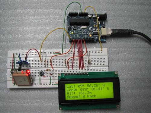 Arduino gps pari s tech