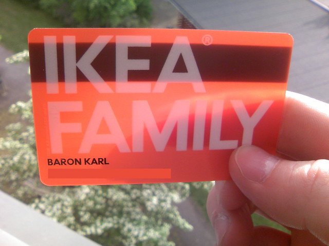 ikea family card is transparent o flickr photo sharing. Black Bedroom Furniture Sets. Home Design Ideas