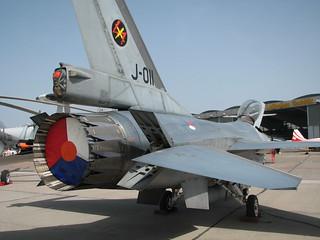 Heckansicht: F-16AM