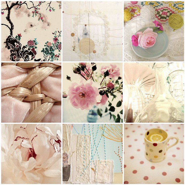 A hint of summer romance, Flickr mosaic curated by Emma Lamb