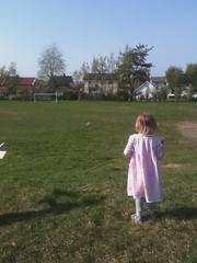 Kids flying