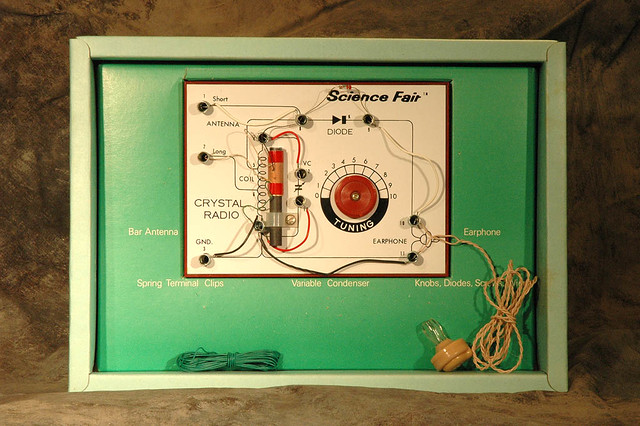 Crystal radio kit i received one like this from my uncle i