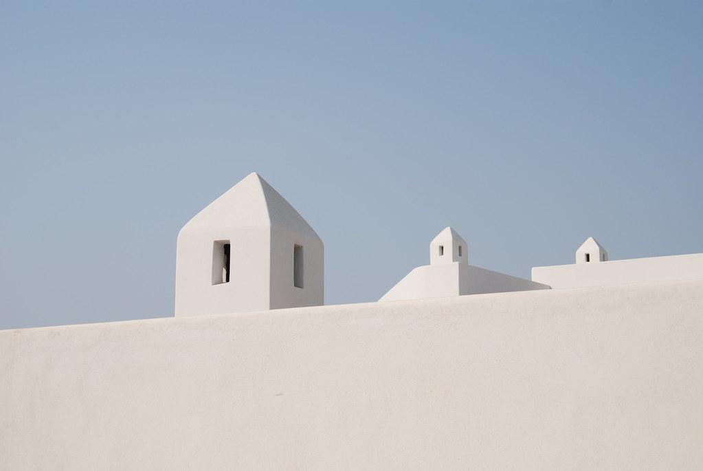 Stromboli: bianco e celeste