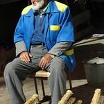 Mansur Bazaar, Selling Brooms - Dushanbe, Tajikistan