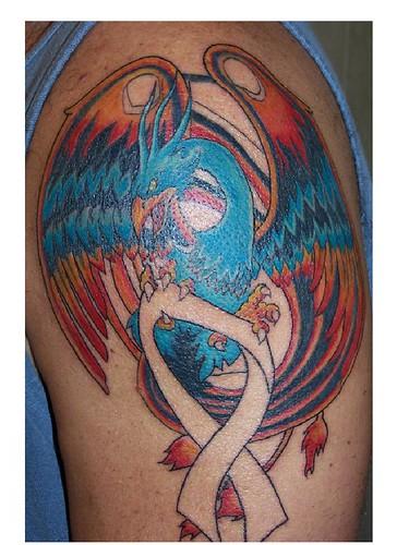 Tattoo mini july 2009 for Huma bird tattoo