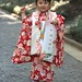 "Girl dressed for ""Seven Five Three"" ceremony, Yoyogi Park"