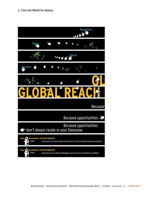 Morgan Stanley Van Kampen Advertising Campaign 2005: Concepts: Page 3 of 11 ...
