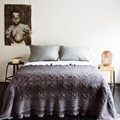 Gray bedding marie claire maison explore mudrick 39 s for Marie claire maison chambre