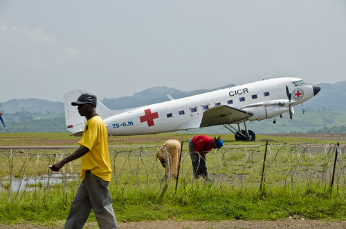 Red cross in Africa
