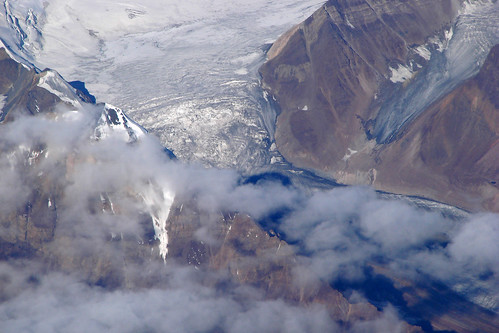 Glacier in the Himalayas