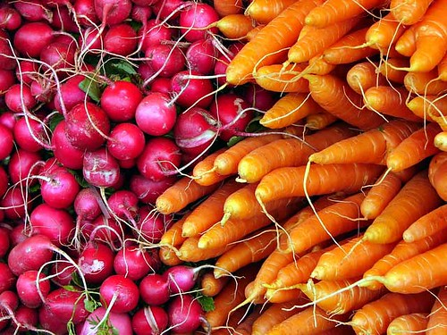 Radishes and Carrots (also a jigsaw puzzle )