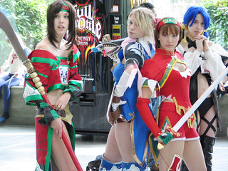 Three Soul Calibur Girls