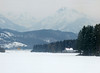 Snowy Bavarian Alps - Fussen, Germany