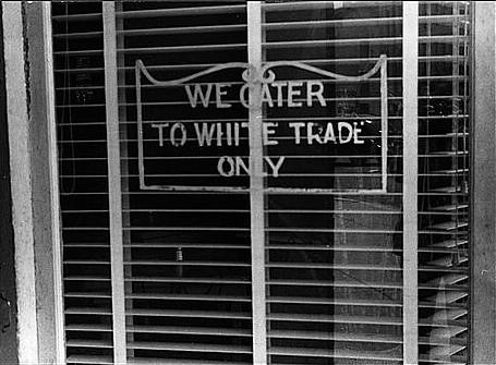 18whiteOnlySignOnRestaurantAug1938 from Flickr via Wylio