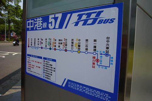 台中TTJ捷運公車路線圖