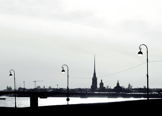 (134/365) Spires, bridges and lamps