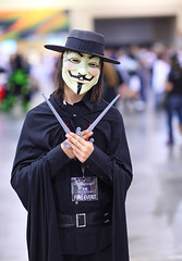 V for Vendetta 2011 Phoenix Comicon