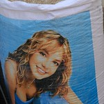 Britney Spears on Rice Bag? Bishkek, Kyrgyzstan
