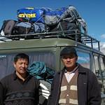 Drivers through Pamir Mountains, Tajikistan