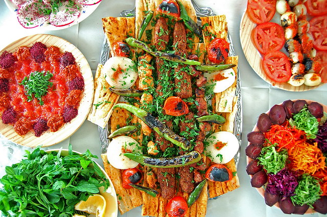 Adana Mixed Kebab