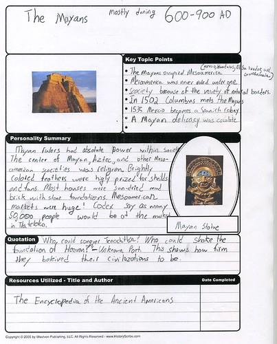 History Scholar-Mayans
