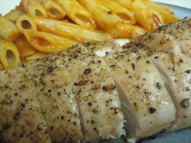 Baked Chicken with pasta | Flickr - Photo Sharing! Chicken
