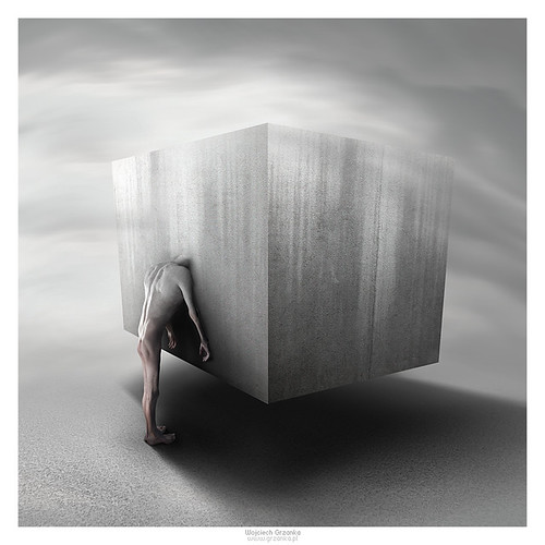 The Cube by Wojciech Grzanka