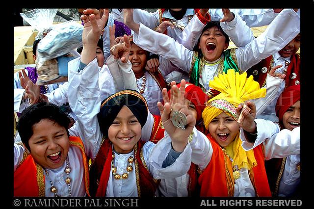 Kids Bhangra